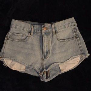 Size 1, Bullhead Denim Shorts